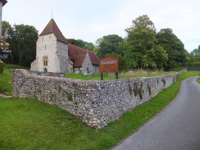 All Saints Church, West Dean Village